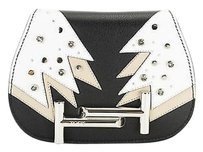 Tod's Mico Rock Strass Womens Leather Shoulder Bag