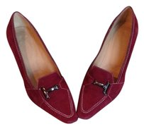 Tods Berry Suede Pumps