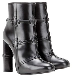 Tom Ford Ankle Leather Black Boots