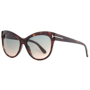 Tom Ford Tom Ford Lily Havana Women's Cat Eye Sunglasses