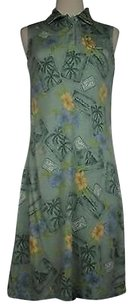 Tommy Bahama short dress Multi-Color Womens Tropical Sleeveless Silk Blend on Tradesy