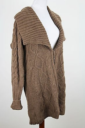 Tommy Hilfiger Womens Sweater Brown Acrylic - new