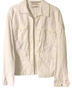 Tommy Hilfiger Rare-edition Five-pocket white Womens Jean Jacket