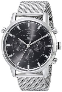 Tommy Hilfiger Tommy Hilfiger Men's 1790877 Silver-Tone Stainless Steel Watch