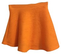 Topshop Mini Skirt Orange