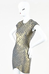 Torn by Ronny Kobo Metallic Dress