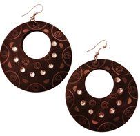 Torrid Large Wooden Earrings