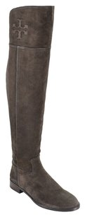 Tory Burch 35mm Over The Knee Suede Cafe Boots