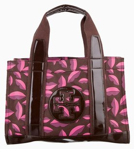 Tory Burch Amanda Thora Miller Elastic Reva Alma Ella Tote in Brown