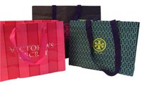 Tory Burch and Victoria Secret Tory Burch and Victoria Secret Shopping Totes