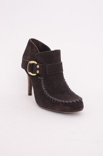Tory Burch Suede Leather Brown Boots