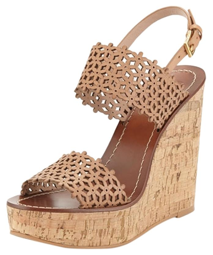 cheap sale with paypal new for sale Tory Burch Platform Leather Sandals buy cheap extremely purchase cheap online oGyGdvJU