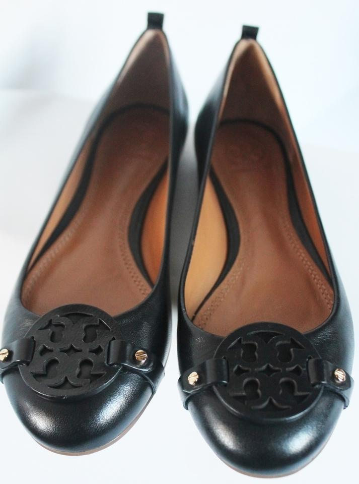 19735bd68 ... Tory Burch Black In In In Box Mini Miller Ballet Leather Flats Size US  7 Regular ...