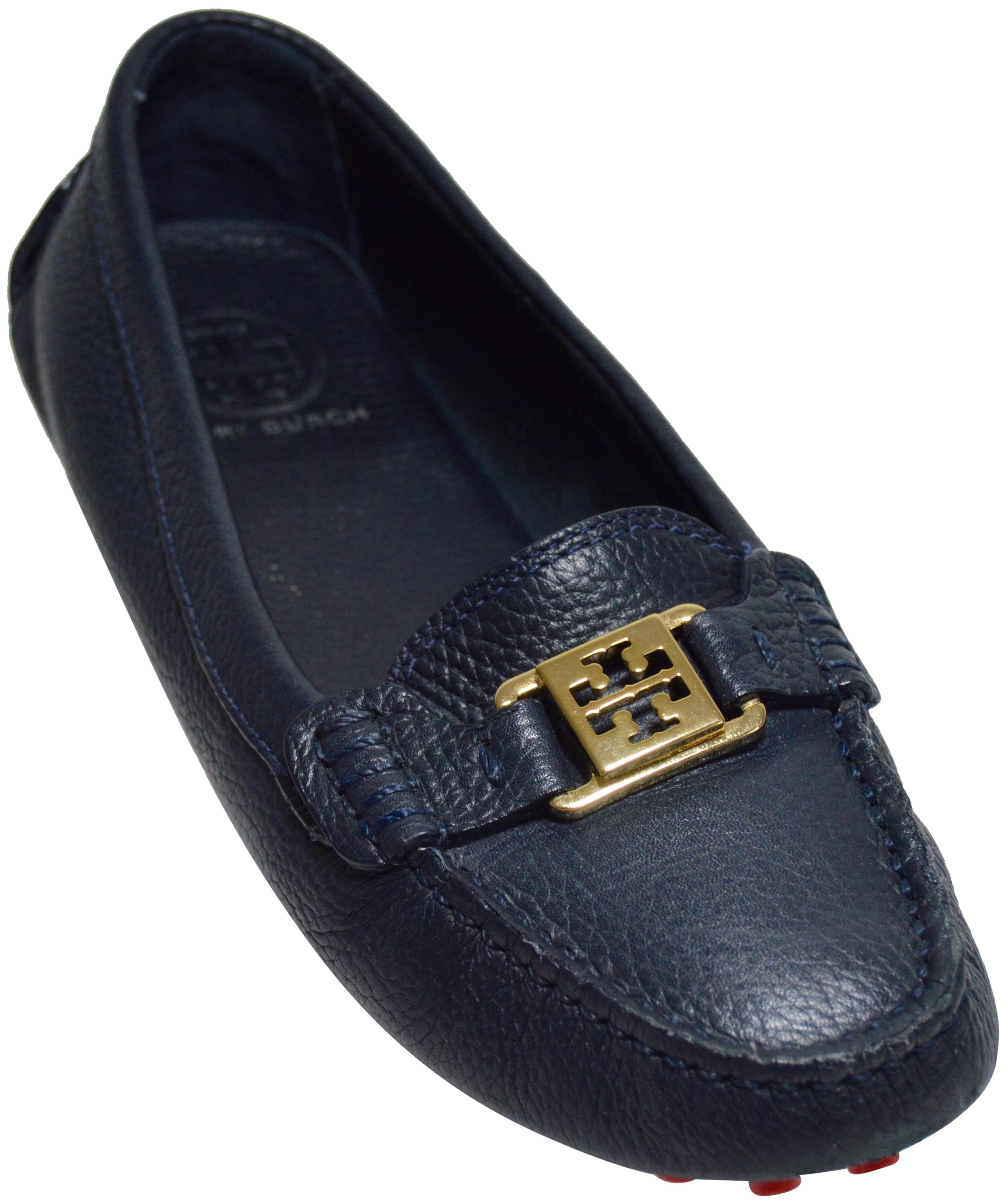 d281ba46ef84 Tory Tory Tory Burch Black Kendrick Driver Loafers Flats Size US 9.5 Regular  (M