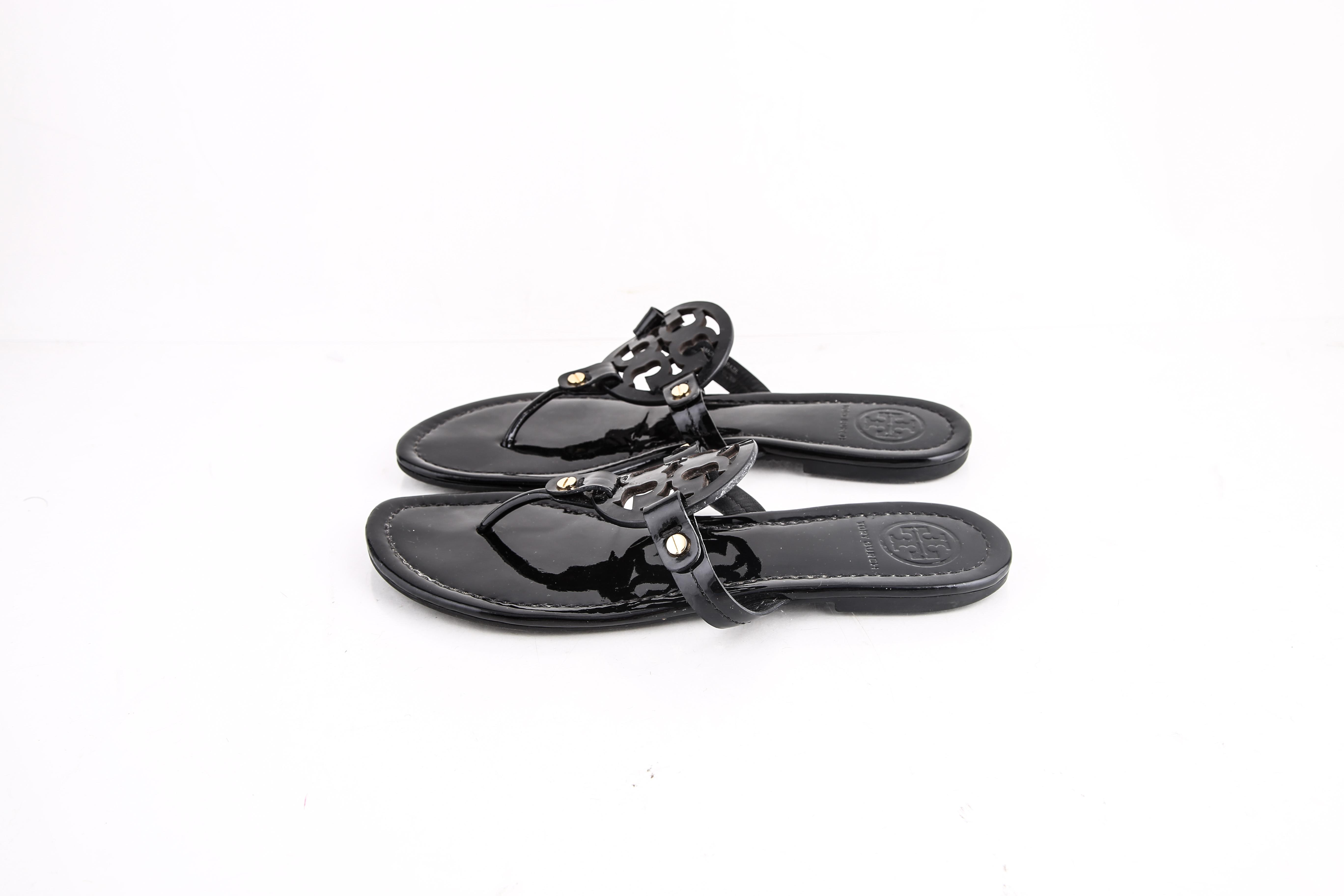 d41f30f80a77 ... B Tory Burch   Black Miller Sandals Size US 8 8 8 Regular (M