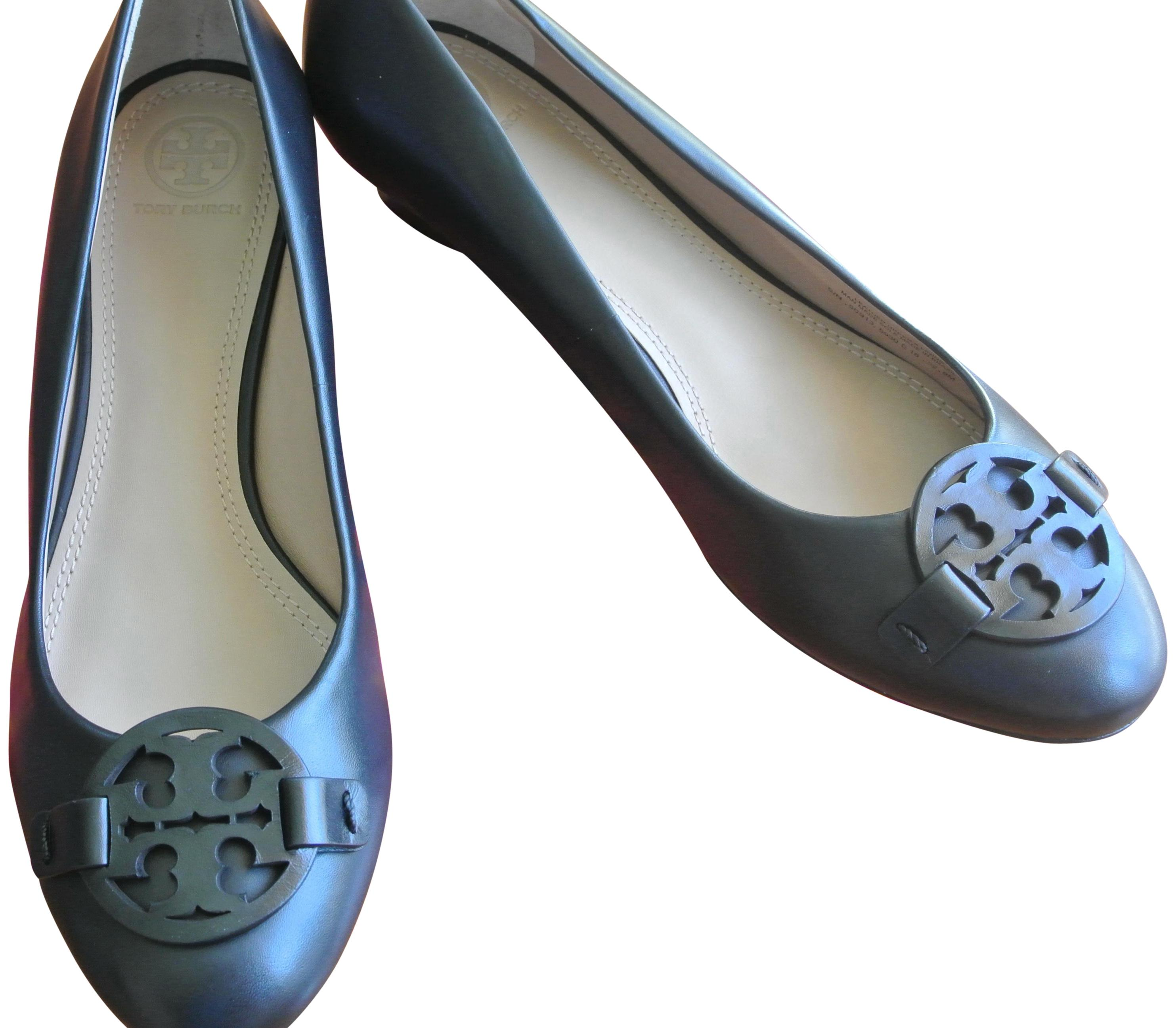 Tory Miller Burch Burch Tory Nero Miller Tory Smooth Pelle 35mm Wedges Size   78af5e