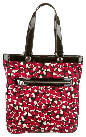 Preload https://item1.tradesy.com/images/tory-burch-black-red-canvas-patent-tote-bag-multicolor-3880750-0-0.jpg?width=440&height=440