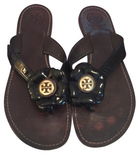 Tory Burch Breely Flip Flops black Sandals