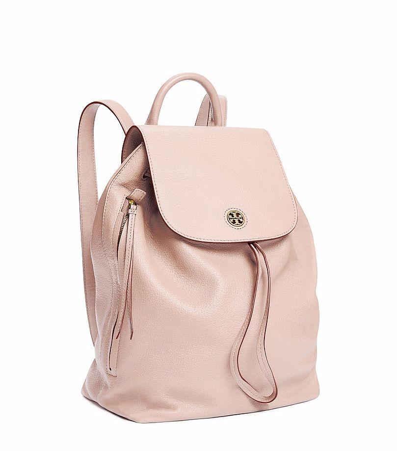 Tory Burch Leather; Guaranteed Your Money Back Backpack. 12345