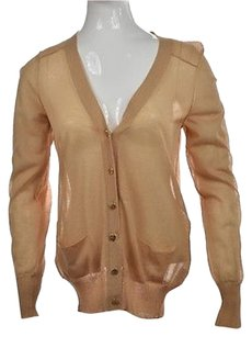 Tory Burch Womens Tan Sweater