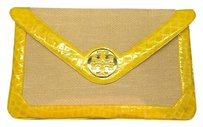 Tory Burch Bright Yellow Clutch