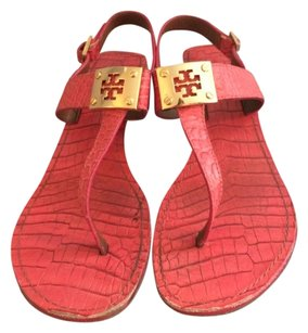 Tory Burch Dark Pink Sandals