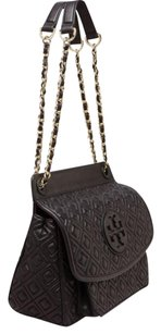 Tory Burch Leather Quilted Chain Strap Shoulder Bag