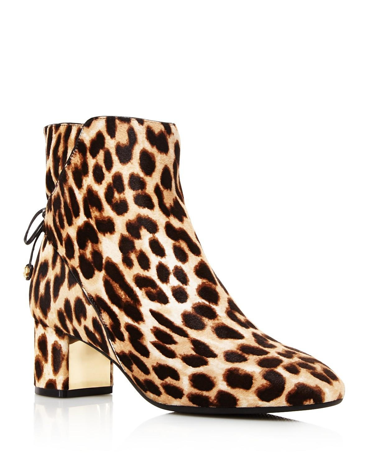 Tory Burch Leopard Brown Boots ...