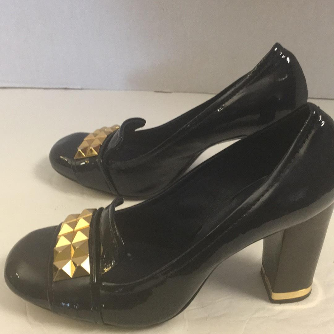 new buy cheap exclusive Tory Burch Patent Leather Studded Pumps excellent cheap online tumblr sale online how much for sale flIg6