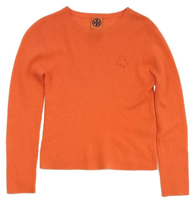 Burch Orange Cashmere Sweater