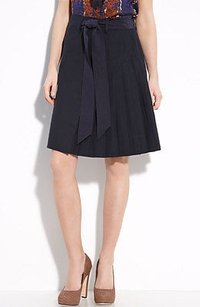 Tory Burch Navy Mcentee Skirt Blue
