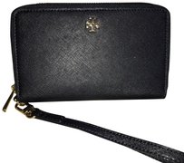 Tory Burch Wristlet in Dark Navy