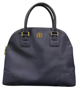 Tory Burch Satchel in Ashy Blue