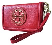 Tory Burch Wristlet in KIR ROYALE RED