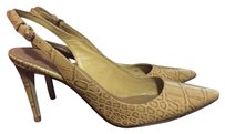 Tory Burch yellow Pumps