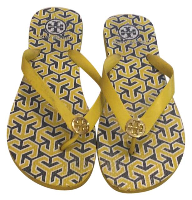 fd2bac3af3e Tory Tory Tory Burch Yellow Sandals Size US 8 Regular (M