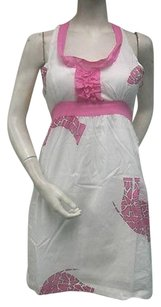 Tracy Negoshian short dress Multi-Color Pink White on Tradesy