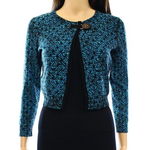Tracy Reese 23p9t9 3/4 Sleeve Cardigan Sweater
