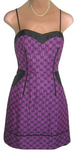 Tracy Reese Made Built In Bra Color Optional Straps Adj Side Pockets Dress