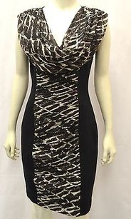 Tracy Reese short dress Multi-Color Blackbrownivory on Tradesy