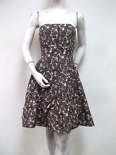 Tracy Reese short dress Multi-Color Plenty Frock By Pink Circle Print Strapless Party on Tradesy