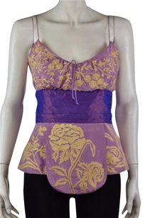 Tracy Reese Womens Top Purple