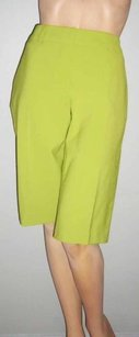 Trina Turk Lime Bermuda Shorts Green