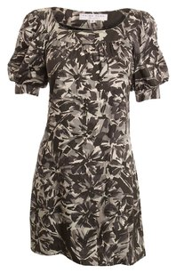 Trina Turk short dress GRAY Silk on Tradesy