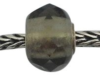 Trollbeads Trollbeads Faceted Grey Gray Prism Bead Charm 60183