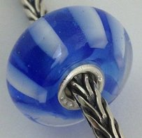 Trollbeads Trollbeads Ooak Murano Glass Unique Bead Charm 139 15mm Diameter