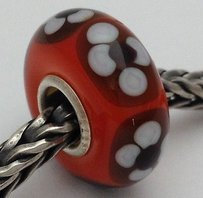 Trollbeads Trollbeads Ooak Universal Unique 140 Murano Glass Bead Charm Fits All
