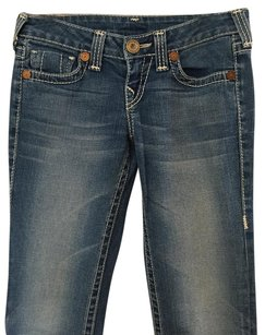 True Religion Boot Cut Pants Medium Wash