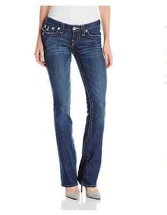 True Religion Becky Mid Rise Skinny Jeans