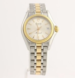 Tudor Tudor 15833 Monarch Womens Watch 18k Yellow Gold Plated Stainless Steel Service